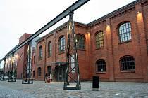 PROMĚNA RUINY. Bývalá slévárna zůstala součástí moderního nákupního centra. Občanské sdružení Vaňkovka její prostory využívá pro kulturní akce.