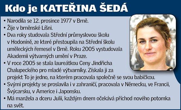 Brněnská výtvarnice Kateřina Šedá.