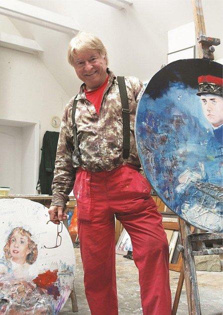 Akademický malíř Pavel Vavrys