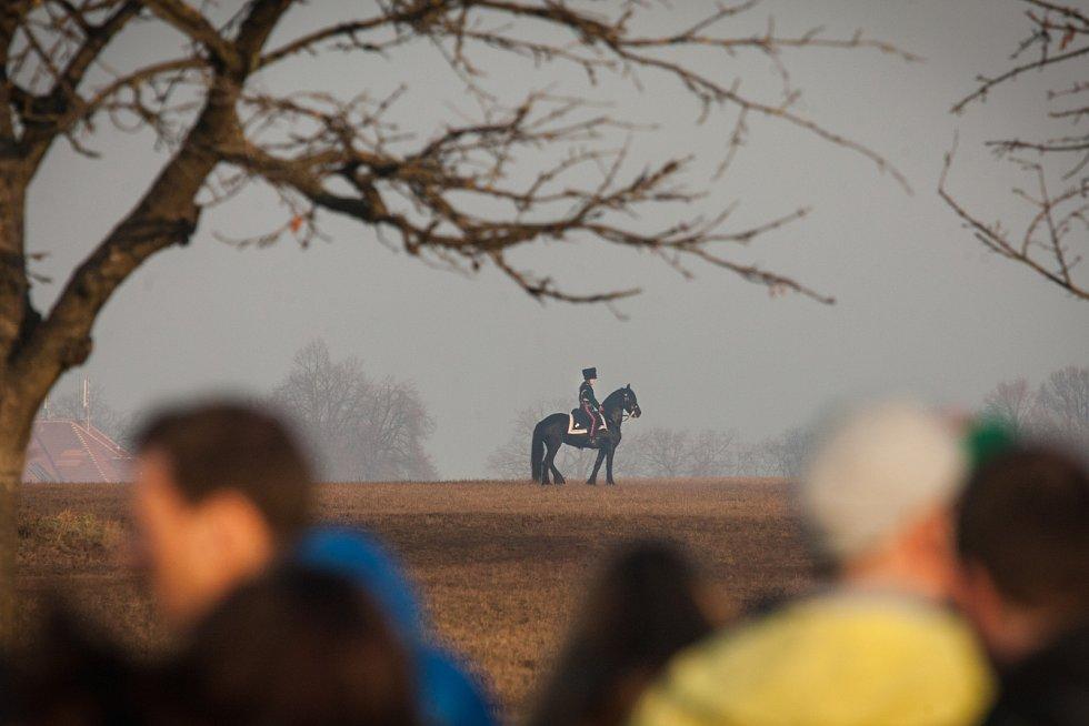 Bitvu tří císařů u Slavkova vidělo osmnáct tisíc lidí.