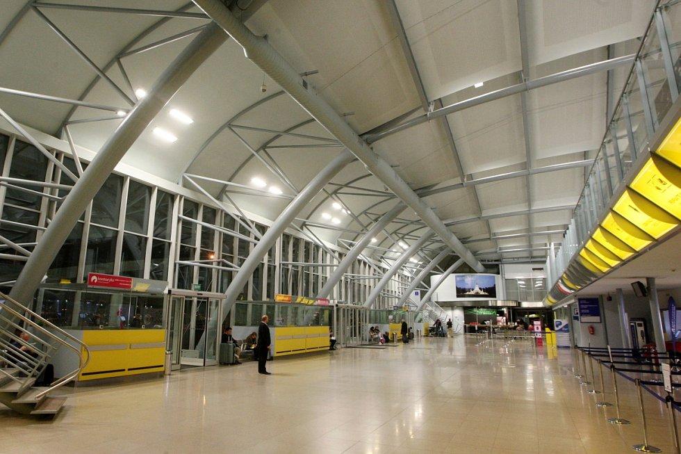 Letiště v brněnských Tuřanech. Ilustrační foto.