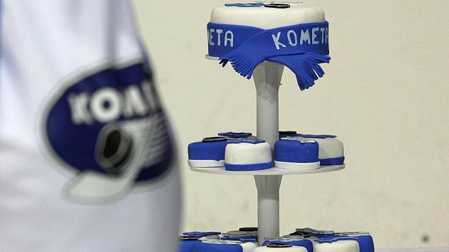 Hokejová Kometa připravila Dortiádu.