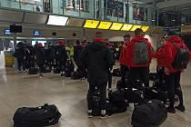 Fotbalisté Zbrojovky odletěli v pondělí ráno na Maltu.