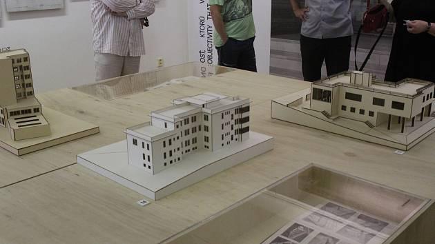 Výstava meziválečného slovenského architekta Friedricha Weinwurma na Špilberku.