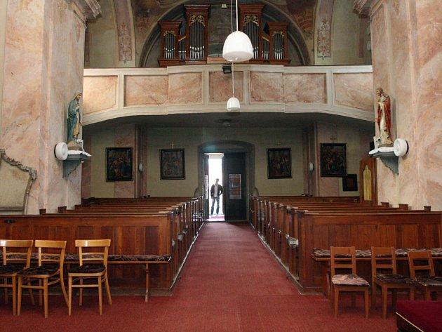 Kostel v Ořechově