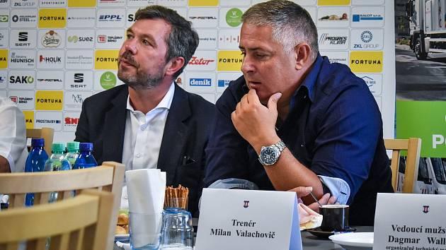 Líšeňský fotbalový kouč Milan Valachovič.