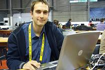 Sportovní redaktor Tomáš Svoboda.
