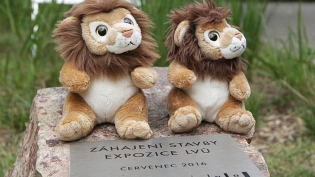 Zahájení stavby nové expozice lvů v brněnské zoo.