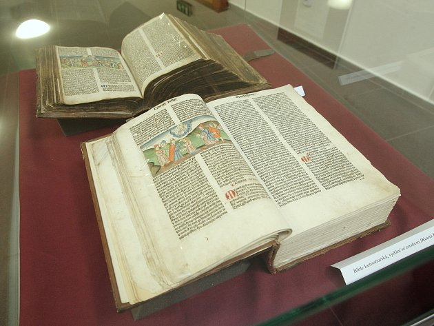 Více než pět set let dějin českého křesťanského písemnictví představil ve čtvrtek Brňanům ředitel Moravské zemské knihovny Tomáš Kubíček.