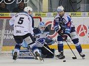 Šlágr 37. kola hokejové extraligy mezi domácí Kometou Brno a Plzní.