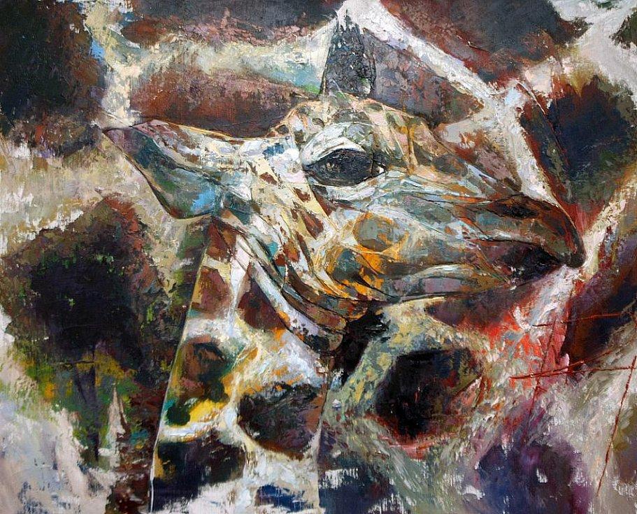 Zambijská výstava malířky Radu Tesaro.
