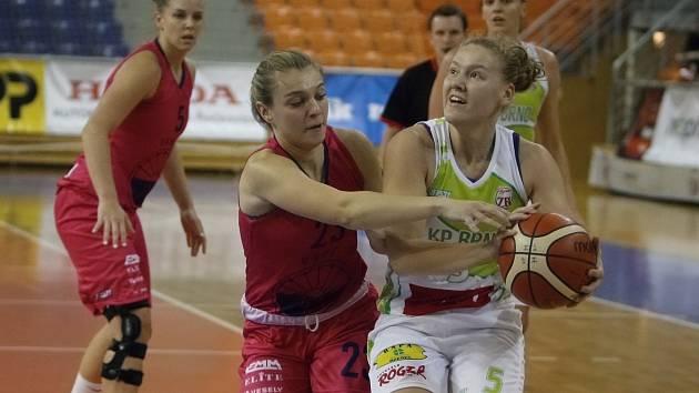 Nováček Ženské basketbalové ligy Technic Brno utržil ve svém prvním městském derby nepříjemný debakl na palubovce KP Brno.