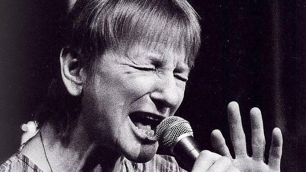 Jazzová zpěvačka Jana Koubková.