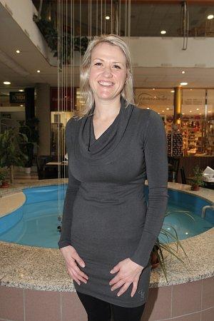 Bývalá znojemská plavkyně Kristýna Kyněrová.