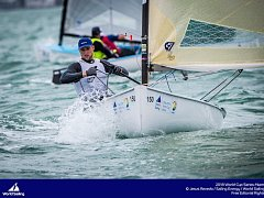 První letošní světový pohár olympijských lodních tříd v Miami.