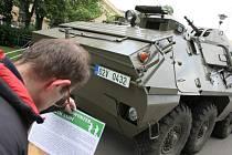 Vojenské ležení na Moravském náměstí