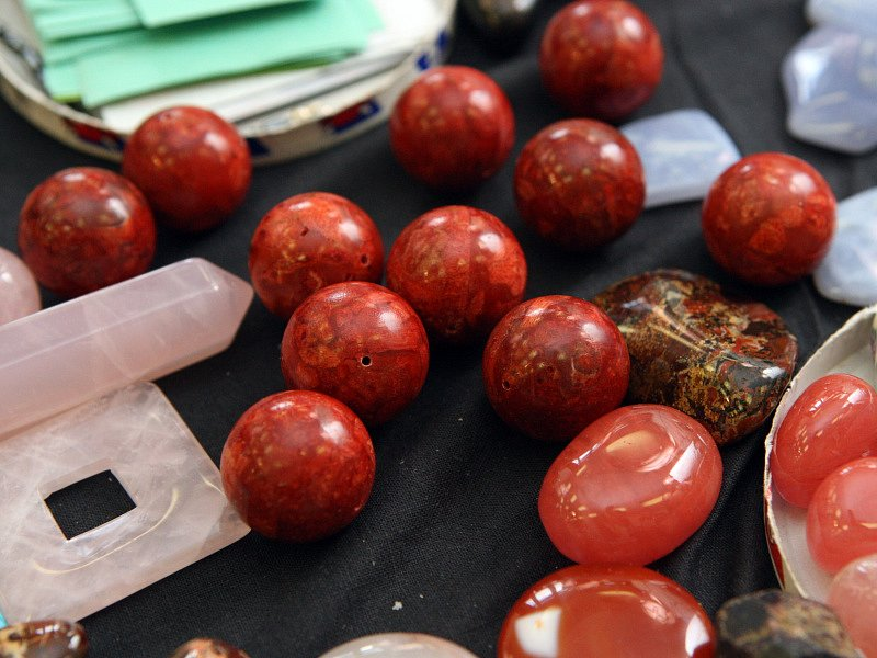 Výstaviště předvedlo drahé minerály, fosílie a šperky