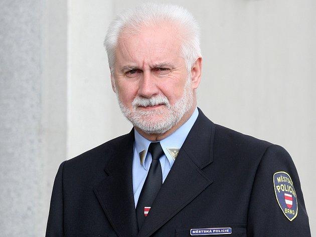Šéf brněnských strážníků Bohumil Šimek.