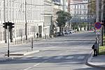 Brno v době opatření proti koronaviru - Koliště