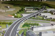 Vizualizace stavby velkého městského okruhu mezi Husovickým tunelem a tunelem pod Vinohrady. Ilustrační foto.