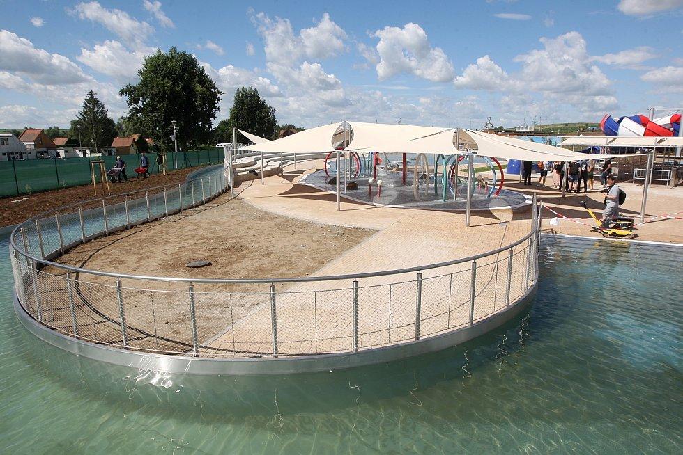 Pasohlávky 30.6.2020 - zprovoznění unikátního tobogánu High Five v Aqualandu Moravia