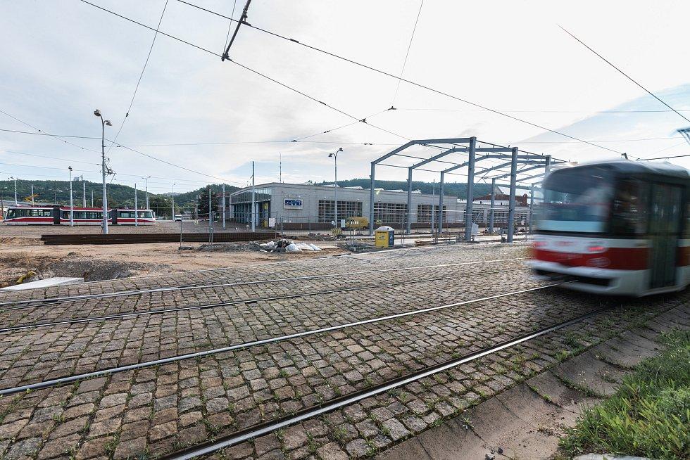 Ve vozovně v Pisárkách vznikne nová hala se speciální protihlukovou fasádou.