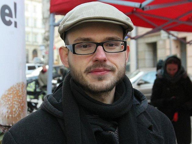 Josef Maňák z Kolektivu pro zvířata.