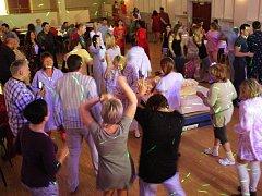 Pyžamový ples v Židlochovicích.