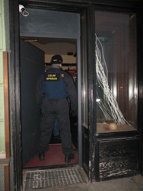 Celníci hernu odhalili ve čtvrtek. Zdroj: Archiv Celního úřadu pro Jihomoravský kraj.