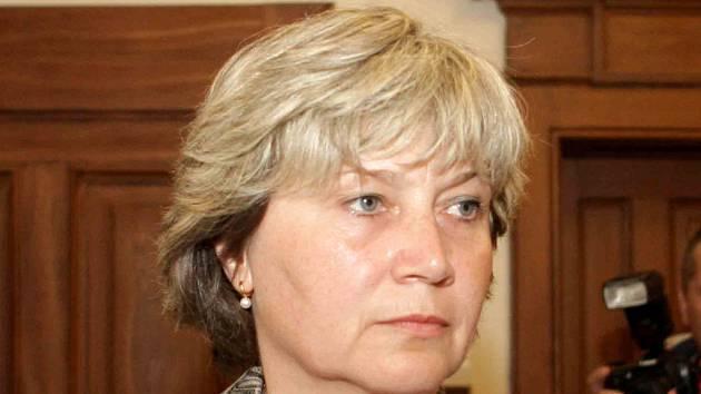 Milana Smékalová u brněnského městského soudu