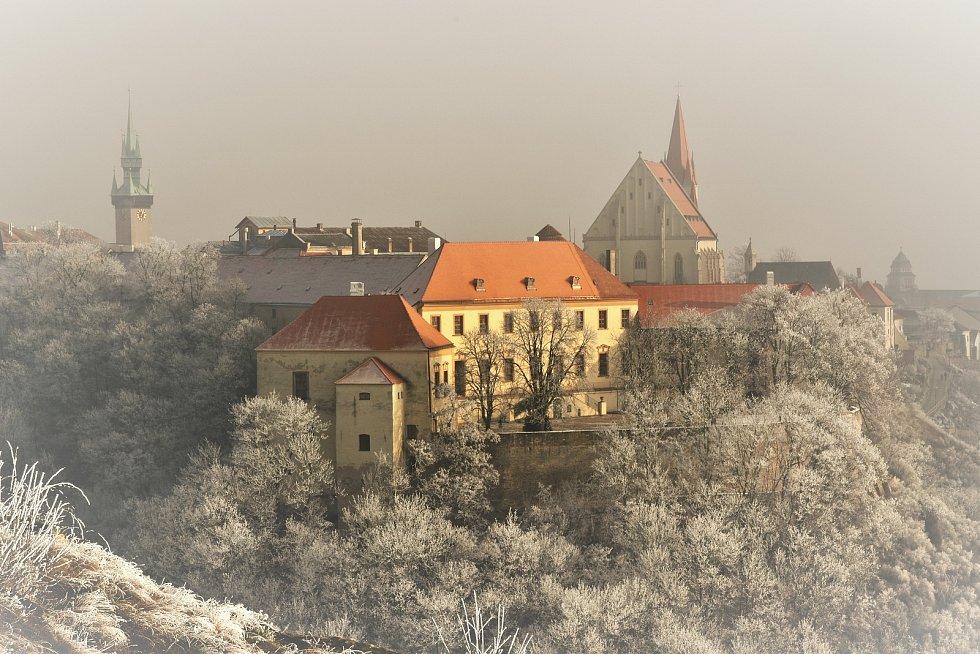Znojemský hrad (2017).