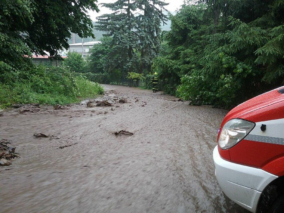 Bouřky zasáhly jih Moravy. Foto: HZS JMK