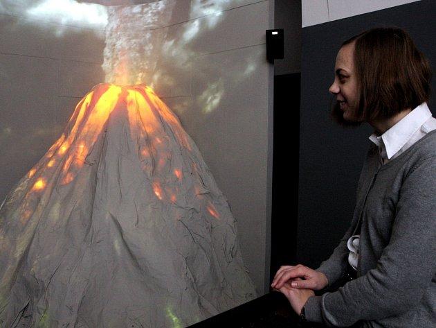 Výstava Vulkány – tepny Země v brněnském Paláci šlechtičen.