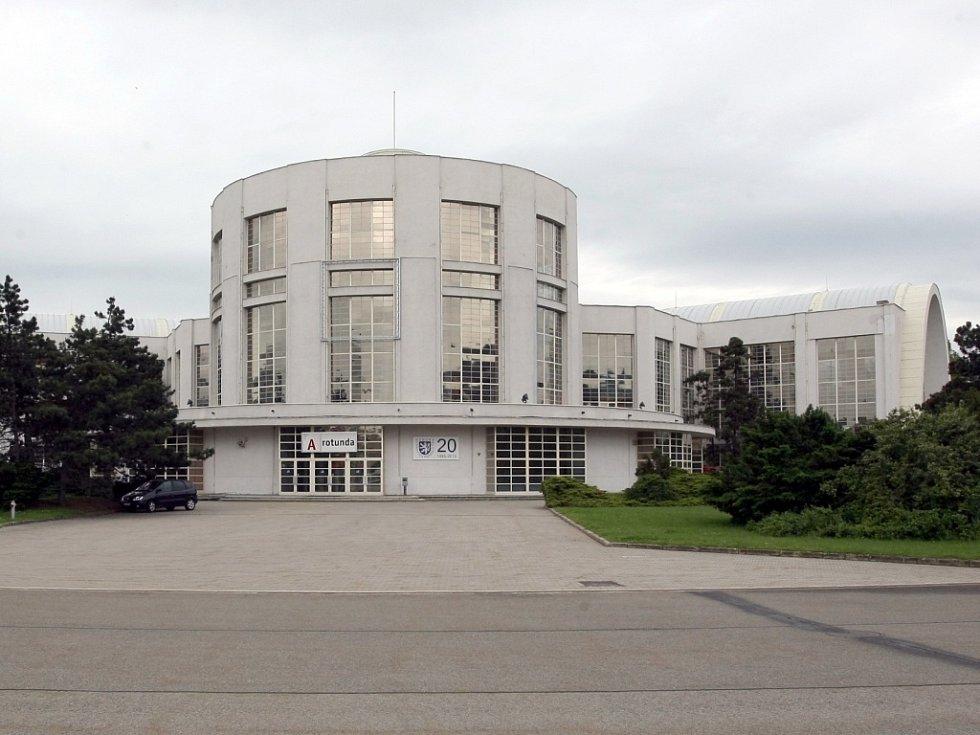 Brněnské výstaviště. Na snímku pavlion A.