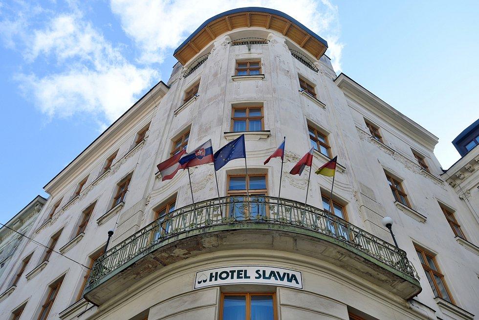 Brno 30.3.2020 - hotel Slavia
