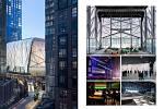 Diller Scofidio, Renfro (New York): Centrum umění The Shed, New York, Spojené státy americké. Vizualizace.