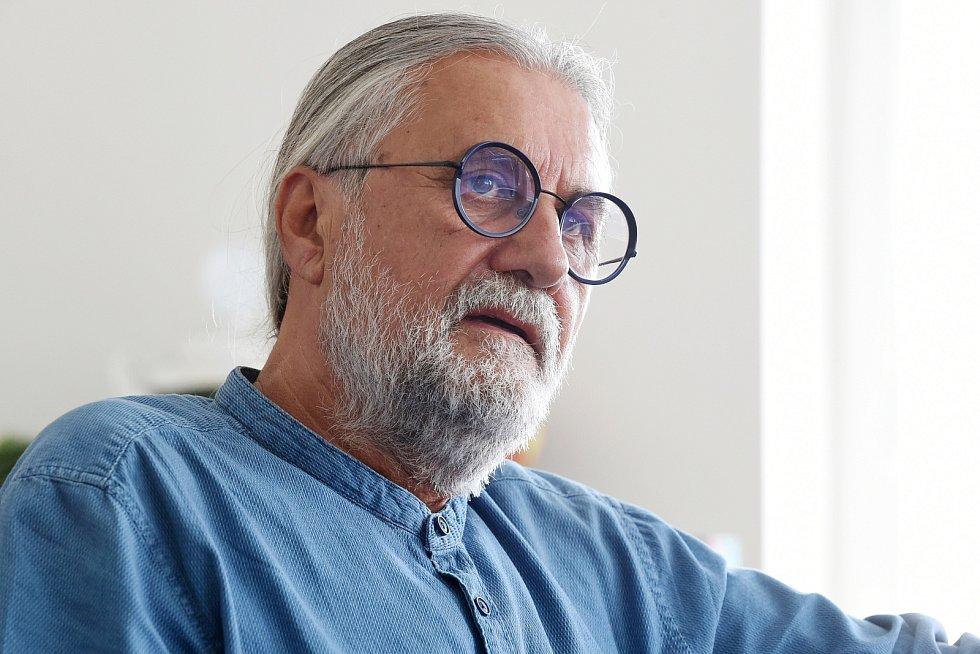 Brno 22.7.2020 - Václav Bartoňek, majitel fotbalové Zbrojovky Brno
