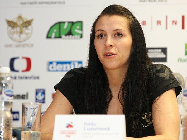 Česká házenkářka Iveta Luzumová.