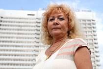 Šéfka jihomoravského Odboru svazu zdravotnictví a sociální péče Marie Hrdinková.