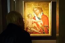 Slavný obraz Madona z Veveří, který získala farnost z Veverské Bítýšky jako součást církevních restitucí. Ilustrační foto.