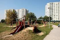 Novolískovecký park Pod Plachtami.