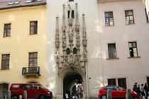 Portál Staré radnice v Radniční ulici