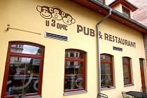 Brněnská restaurace U 3 opic.