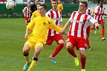 Brněnští mladíci zvítězili v jihomoravském derby nad Znojmem 2:1.
