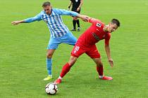29. kolo F:NL: Prostějov (modro-bílá) - Zbrojovka (červená - Antonín Růsek) 0:0