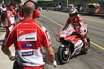 Páteční tréninky na brněnském automotodromu - Jorge Lorenzo.