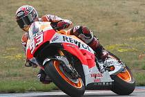 Motocyklový jezdec mistrovství světa MotoGP Marc Márquez.