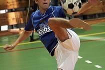 Petr Bubniak při technickém míči.