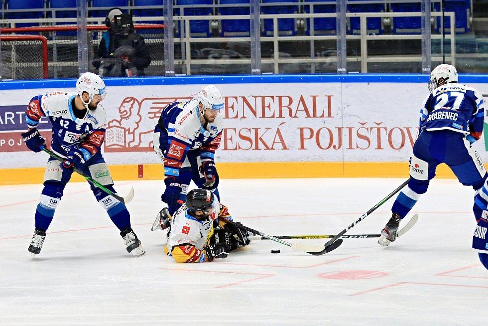 Hokejistům Komety nevyšel duel s Litvínovem.