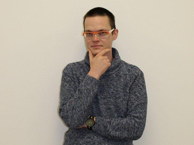 Ondřej Sháněl, technický vedoucí skupiny transmisních elektronových mikroskopů firmy Thermo Fisher Sicentific.